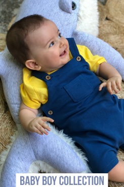 baby boy romper and overall