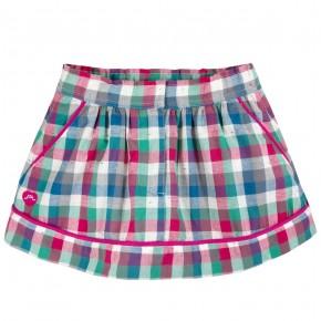 Skirt in checks