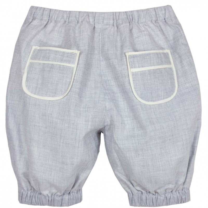 Unisex Baby Girls Boys Cotton Linen Blend Bloomer Shorts