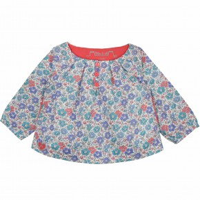 Blouse in floral Liberty
