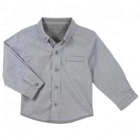 Chemise à rayures grises