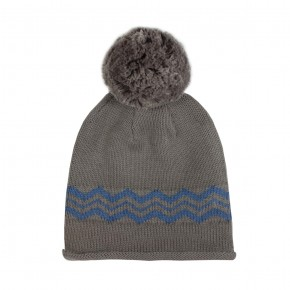 Beanies with Zig zag details
