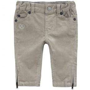Slim cut corduroy pants