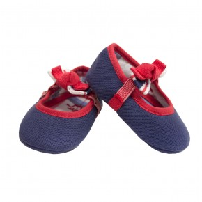 Baby Girl Shoes with knot