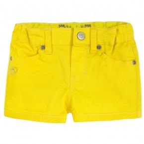 Girl Short in yellow