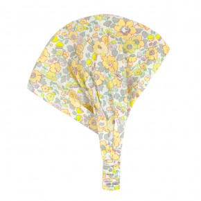 Headwrap in blue liberty floral