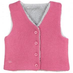 Girls Fuchsia Vest