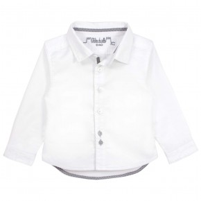 Boys white Long sleeves shirt