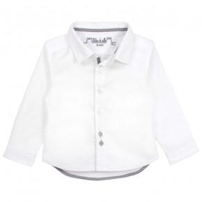 Boys white Long sleeves shirt
