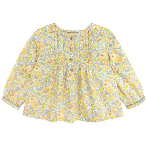 Blouse in Yellow Liberty