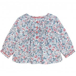 Blouse in Blue Liberty
