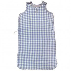 Baby Sleeping Bag with Blue Checks