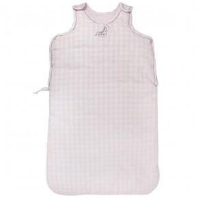 Baby Sleeping Bag with Pink Checks