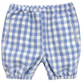 Baby Bloomers with Blue Checks