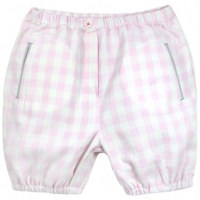 Baby Bloomers with Pink Checks