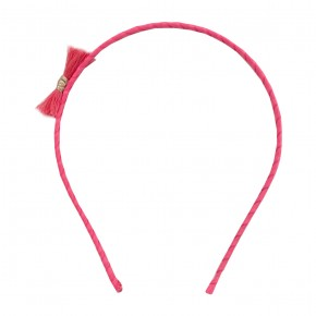 Girl Hair Band with Coral Fray
