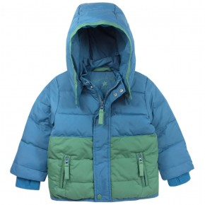 Boy Blue Downcoat with removable hood