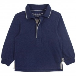 Boy Navy Polo