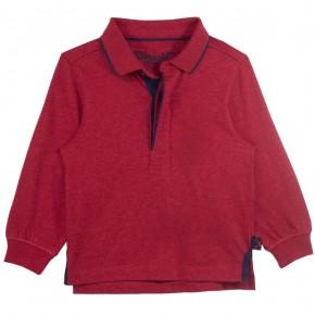 Boy Red Polo