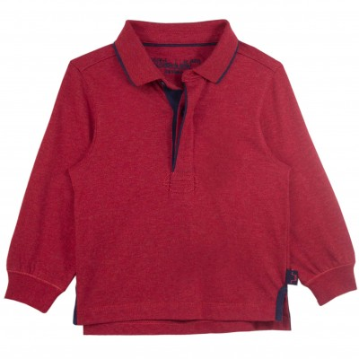 Boy Red Polo