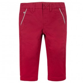 Boy Classic Pants in Red