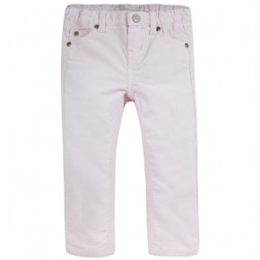 Girl Corduroy Pants in Pink