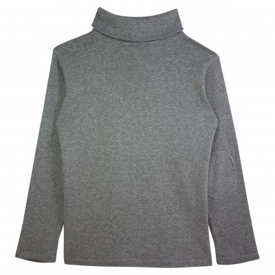 Boy Turtle Neck Top in Grey