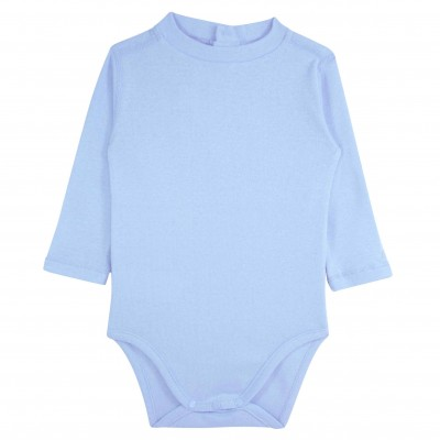 Baby Boy Bodysuit in Light Blue