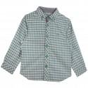 Boy Checks Shirt in Green