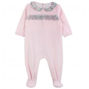 Baby Girl Pyjamas in Pink Liberty