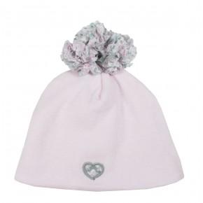 Bonnet bébé rose