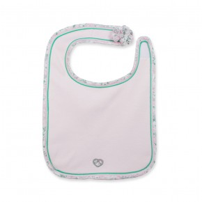Baby bib in pink