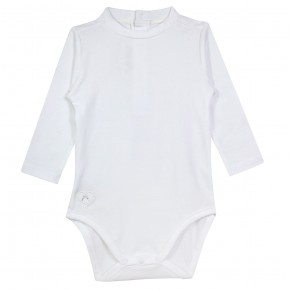 Baby Girl Bodysuit in White