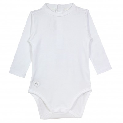 Baby Girl Bodysuit in White