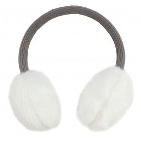 Girl White Ear Muffs