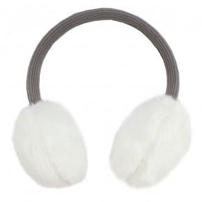 Girl White Ear Muffs