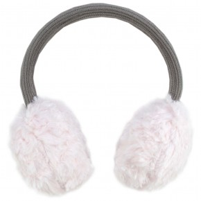 Girl Pink Ear Muffs