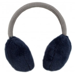 Girl Navy Ear Muffs
