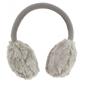Girl Grey Ear Muffs