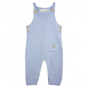 Baby Boy Knitted Overall Light Blue