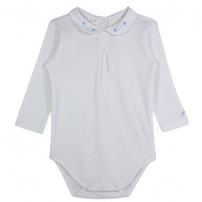 Baby boy long sleeve bodysuit