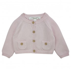 Classic girl knitted cardigan