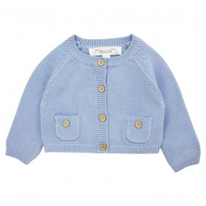 Classic boy knitted cardigan
