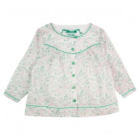Girl Blouse in Pink Liberty