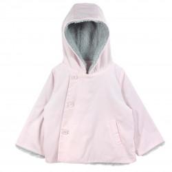 Girl Hooded Jacket Pink