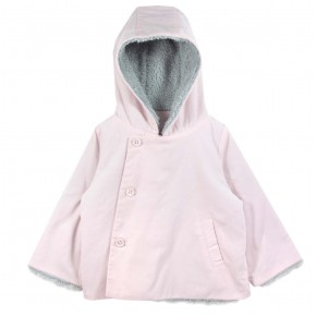 Girl Hooded Jacket Pink