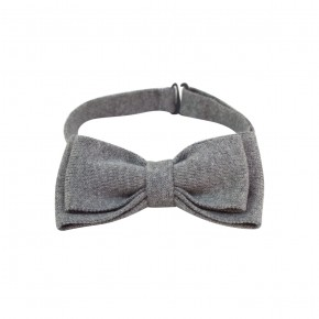 Boy Grey Bow Tie