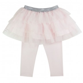 Girl Leggings with Pink Tutu