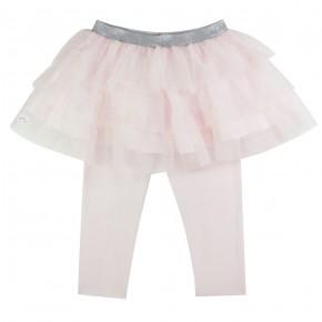 Girl Leggings with Pink Tutu