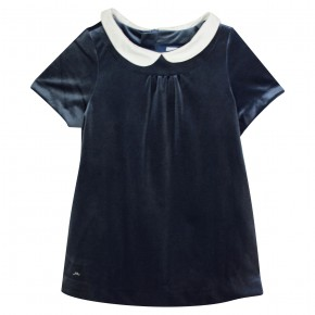 Girl Dress with Collar